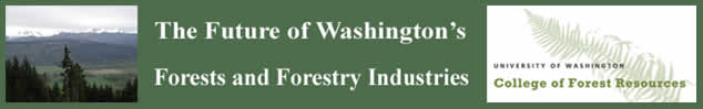 The Future of Washington's Forests and Forest Industries header